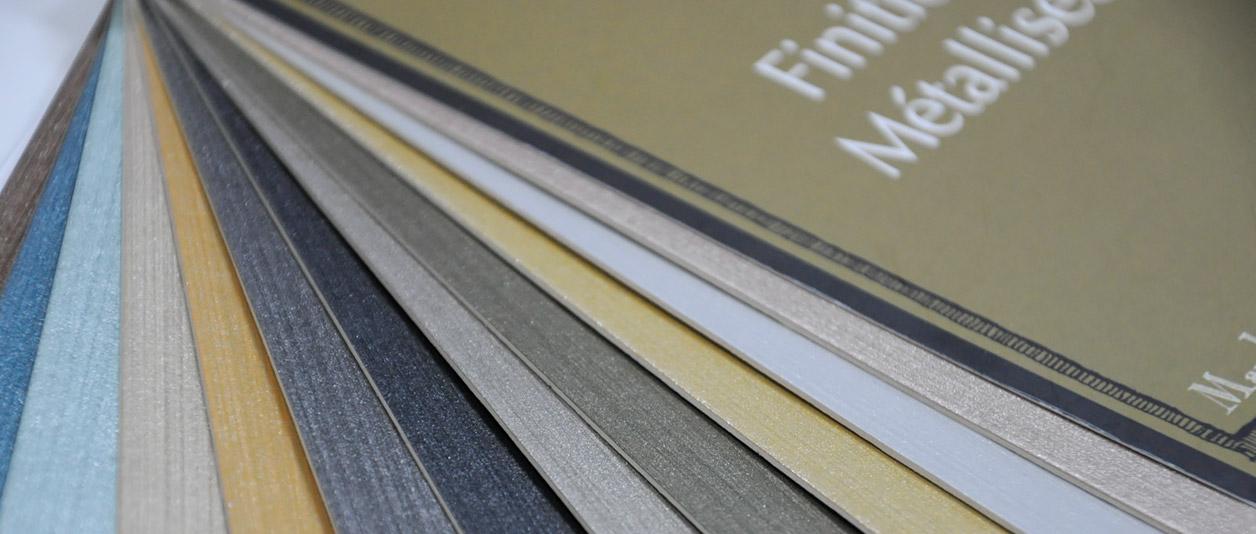 Finitions métallisées - Ressource Peintures