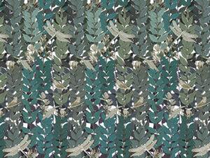 Papier peint Ressource, Collection Forestine, Motif Libellule, variation LB01