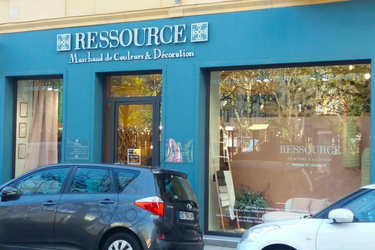 Boutique Ressource Nice