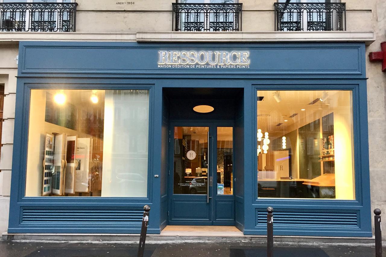 Boutique Ressource Paris Le Marais