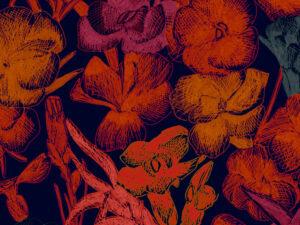 Papier Peint Ressource, Collection Faune & Flore, Motif Estampe, Variation ES01