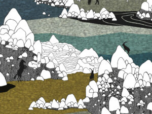 Papier Peint Ressource, Collection Faune & Flore, Motif Grands Espaces, Variation GE02