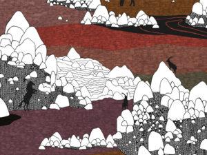 Papier Peint Ressource, Collection Faune & Flore, Motif Grands Espaces, Variation GE03